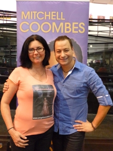 Australian Paranormal & Spiritual Expo - rubbing shoulders with Mitchell Coombes